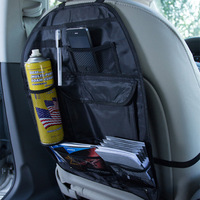 Universal Multi Functional Waterproof Car Auto Care Seat Protector Cover Storage Bag Mud Hanging Organizer 58cmx38cm