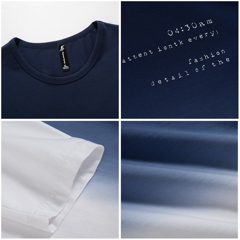 Pioneer Camp 2018 New Arrive Mens T-shirt Mode O-Neck Casual Long - Herrkläder - Foto 5