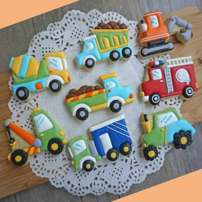 Fabulous Diy Creative Construction Cake Mold Construction Party Cookies Funny Birthday Cards Online Elaedamsfinfo
