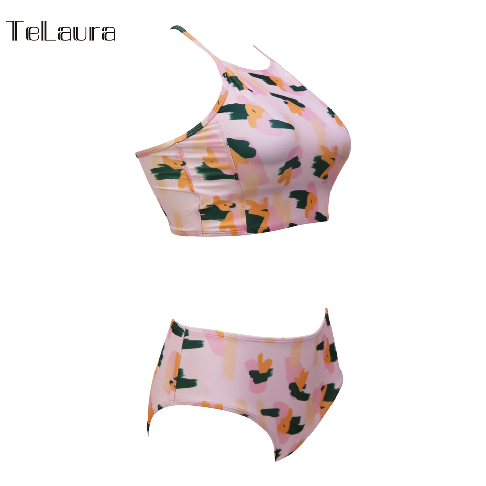Sexy High Neck Bikini, Women's Swimwear, Push Up Swimsuit, Brazilian Bikinis, Women Bathing Suit 48