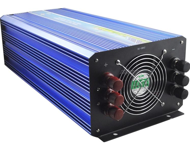 цена на 6000w off grid pure sine wave inverter. DC24V/48V to AC100V/110V/120V/220V/230V/240V. Wind solar power inverter.