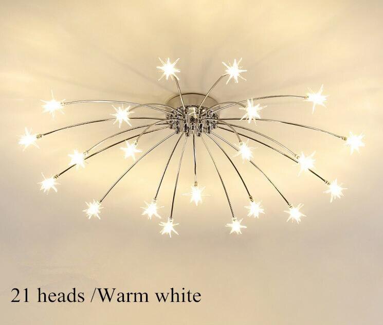 luz da lâmpada do gelo flor vidro