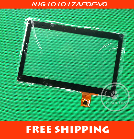 New Original 10.1 inch NJG101017AE0F-V0 tablet Touch screen digitizer glass touch panel replacement Sensor Free Shipping original new 8 inch bq 8004g tablet touch screen digitizer glass touch panel sensor replacement free shipping
