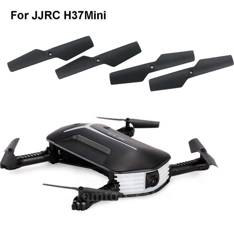 Hiinst 2018 Electric untuk H37 Mini RC Quadcopter Suku Cadang 4 PC Baling-Baling