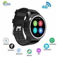 KingWear KC03 4G Smartwatch Phone Call 1.3'' Android 6.0 MTK6737 1.2GHz 1GB+16GB Sedentary Reminder Bluetooth 620mAh Smart Watch