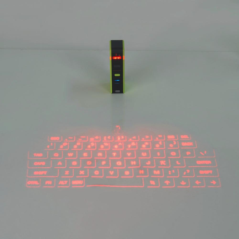 Prix pour KB320 Universel Bluetooth USB Virtuel Laser Clavier Portable Taille Bluetooth De Projection Clavier Pour Téléphone Intelligent de Haute Qualité!