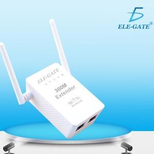 Image 4 - 300 mbps 무선 릴레이 새로운 듀얼 안테나 듀얼 네트워크 포트 무선 wifi 신호 증폭기 무선 ap