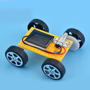 Saizhi игрушки на солнечных батареях для детей, 1 комплект, мини-игрушка с питанием, сделай сам, комплект на солнечной батарее автомобиль для детей, обучающий Забавный гаджет, подарок для хобби, SZ33g4