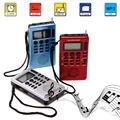 Портативный REC ЖК-Цифровой Приемник AM Fm-радио Band Recorder MP3 Плеера