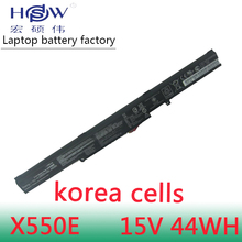 Original 15V 2950MAH 44WH Battery for Asus X41-X550E X550E K550E K550D LAptop battery
