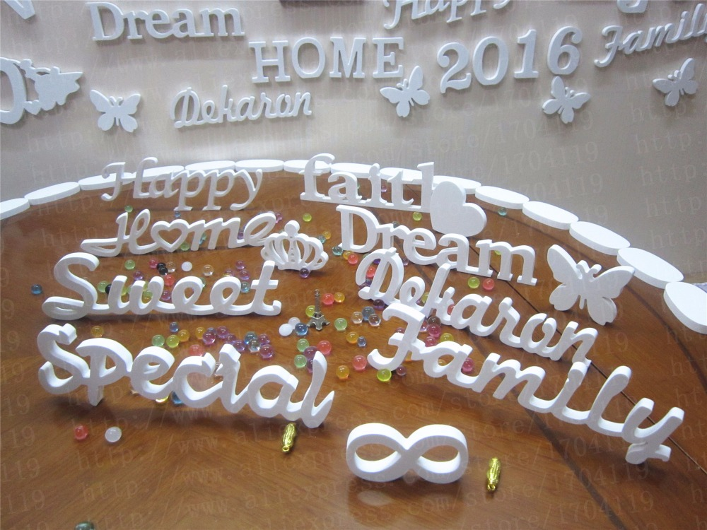 Online get cheap standing wooden letters aliexpresscom for Where to buy wooden letters cheap