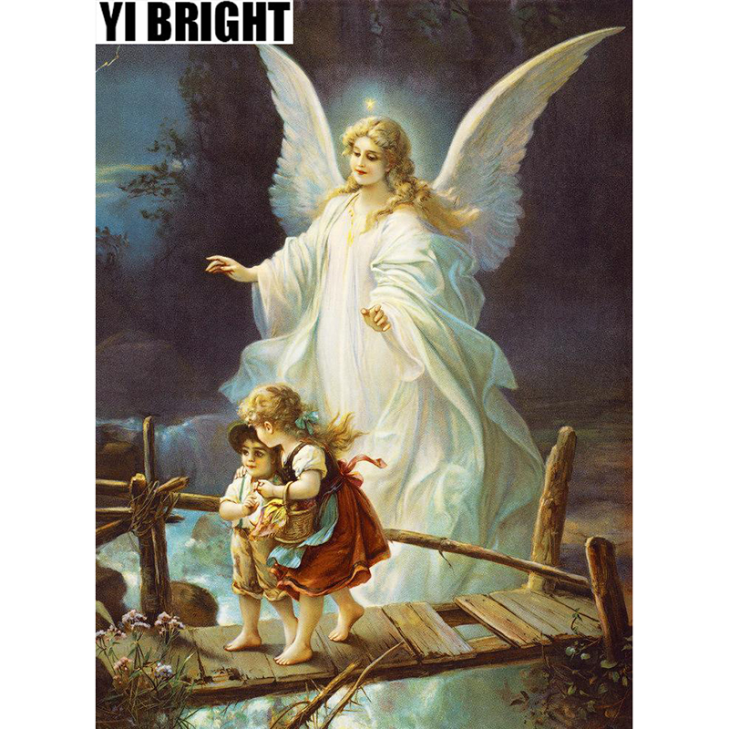 5D DIY Religion Guardian Angel&Girl Painting,Diamond Embroidery,Full Square&Round Mosaic Gift,Diamond Painting Cross Stitch GT5D DIY Religion Guardian Angel&Girl Painting,Diamond Embroidery,Full Square&Round Mosaic Gift,Diamond Painting Cross Stitch GT