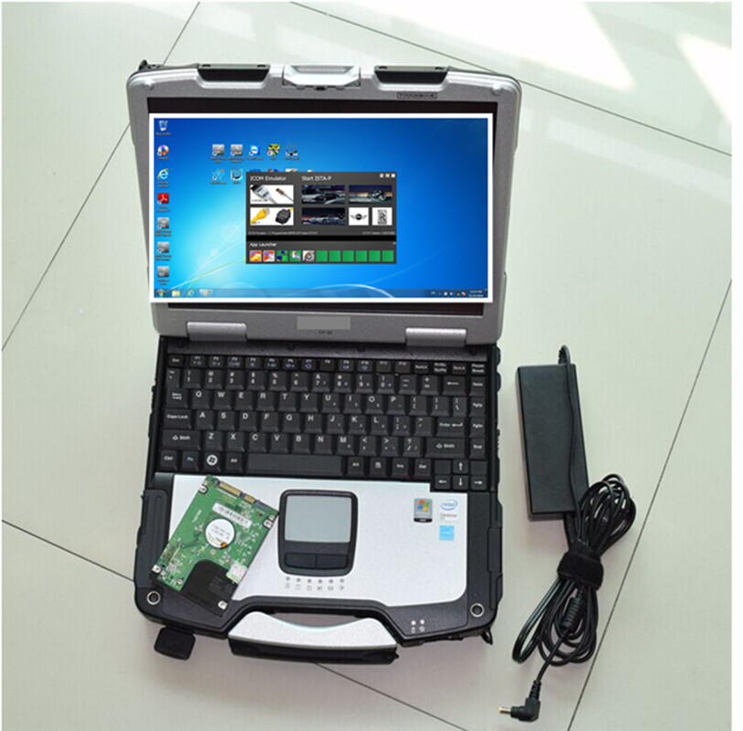 Used Cf30 Laptop With Software 500gb Hdd Ista Expert Mode For Bmw Diagnostic Tool Plug&play
