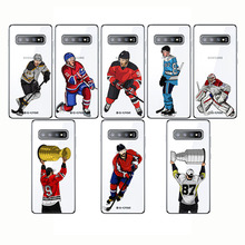 Sport Ice Hockey Sidney Crosby Cartoon Soft Silicon Phone Cases Cover Capinha Coque for Samsung A6 2018  S10 PLUS E