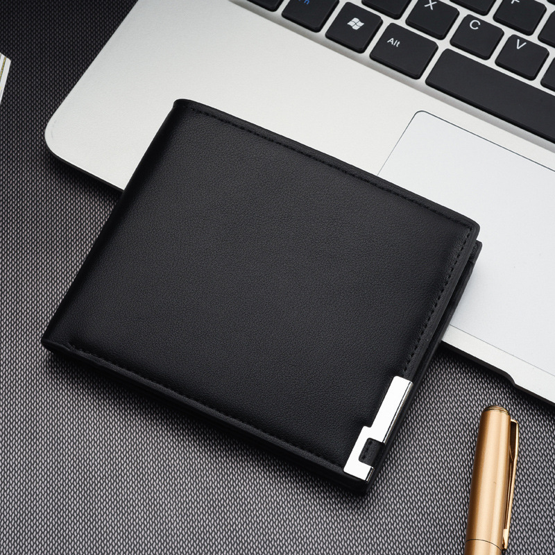 Brand Luxury Men Wallet Office Male Mature Man Bifold Wallet High Quality Male Card ID Holder