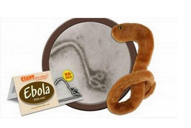Cheap Educational Toys : 100pcs wholesale cheap price kids baby ebola plush toy stuffed cute