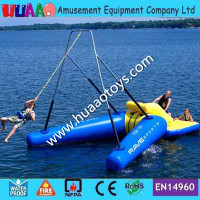 2018 New 16*10m inflatable water game inflatable water toys for giant water park(Free pump + repair kits)