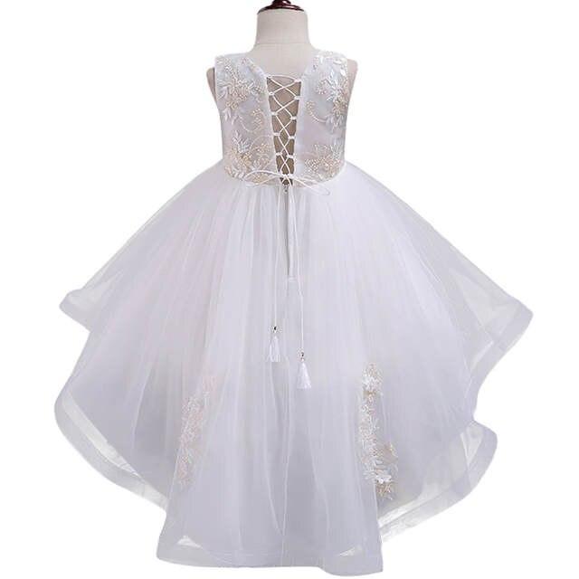 2116d48c50a92 Girl party dress Christmas dress for girl 2018 summer formal girl flower  gir dresses junior girls prom gown dresses baby clothes