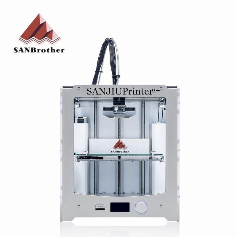 Plus récent 2018 SANJIUPrinter2 + 3D Imprimante kit de bricolage Compatible avec Ultimaker 2 + UM2 + Inclus toutes les Pièces De Qualité Supérieure