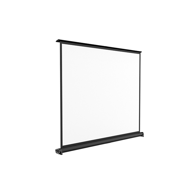 Pull Down Table Desk Projection Screen 40 Inch 4:3 Format Fast Fold Mini  Portable