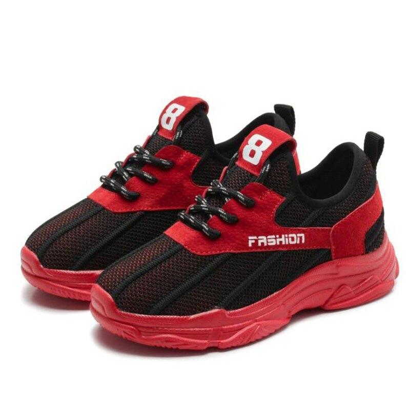Unisex Child Casual Shoe Boys Girls Patchwok Sport Shoes Kids Anti Slip Soft Bottom Shoes Children School Shoe #26