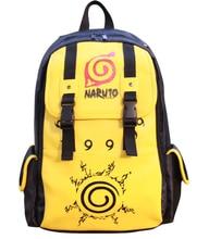 Neue Zweireiher Uzumaki Naruto Konoha PU Tasche Schultertasche Rucksack Schultaschen Reise Haltbar Teenager Computer Rucksack