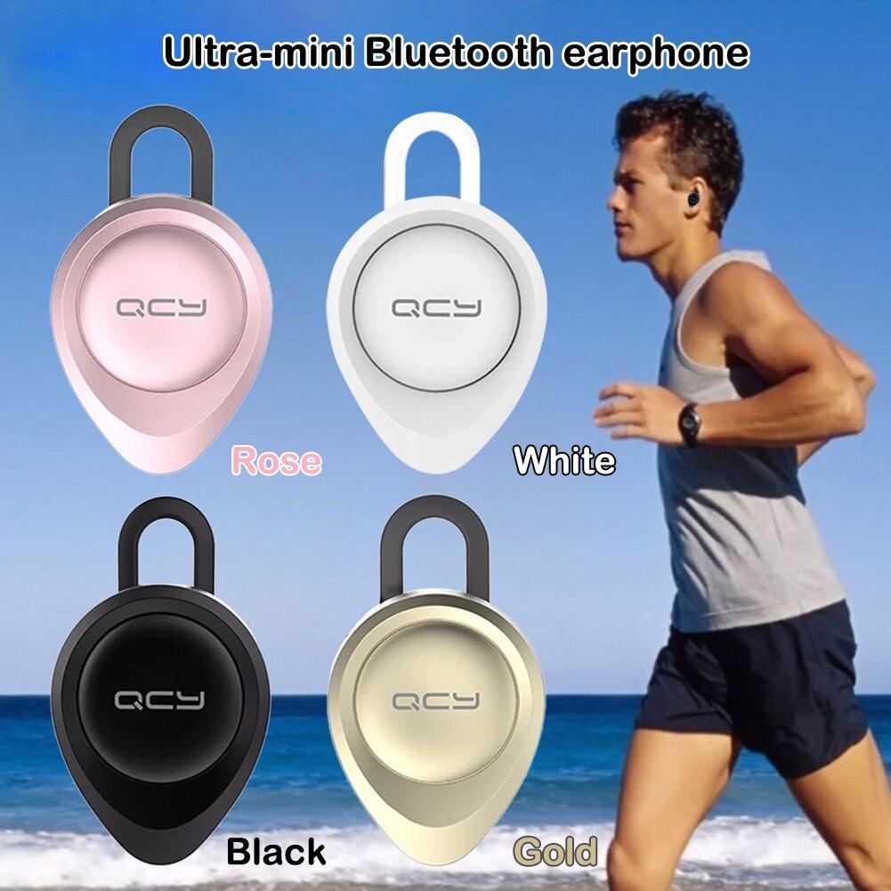 Wireless Headphone Earphones Universal Bluetooth Headset Earphone Mic Headphones Mini V4.1 Wireless Handfree Ear Hook Headset