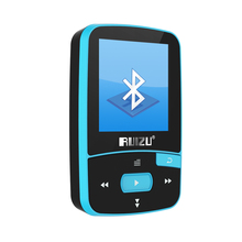 New Mini Clip Sport MP3 Player RUIZU-X50 Portable 8GB FM Radio Pedometer Multi-funcation Bluetooh HiFi MP3 Music Player Blue