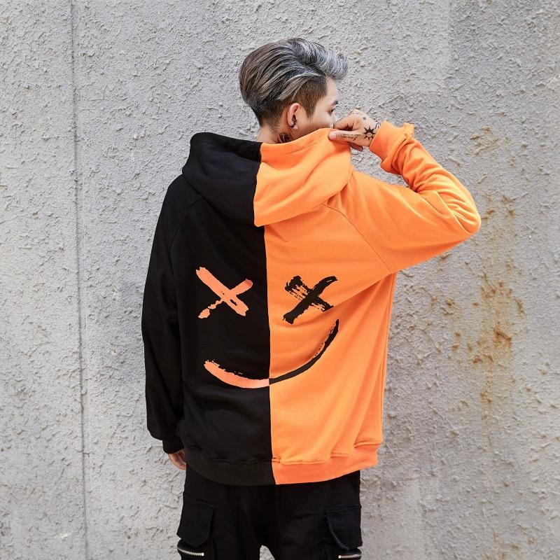 nya mode hoodies herrtröja tryck hoodie herr coola tröjor med - Herrkläder - Foto 3