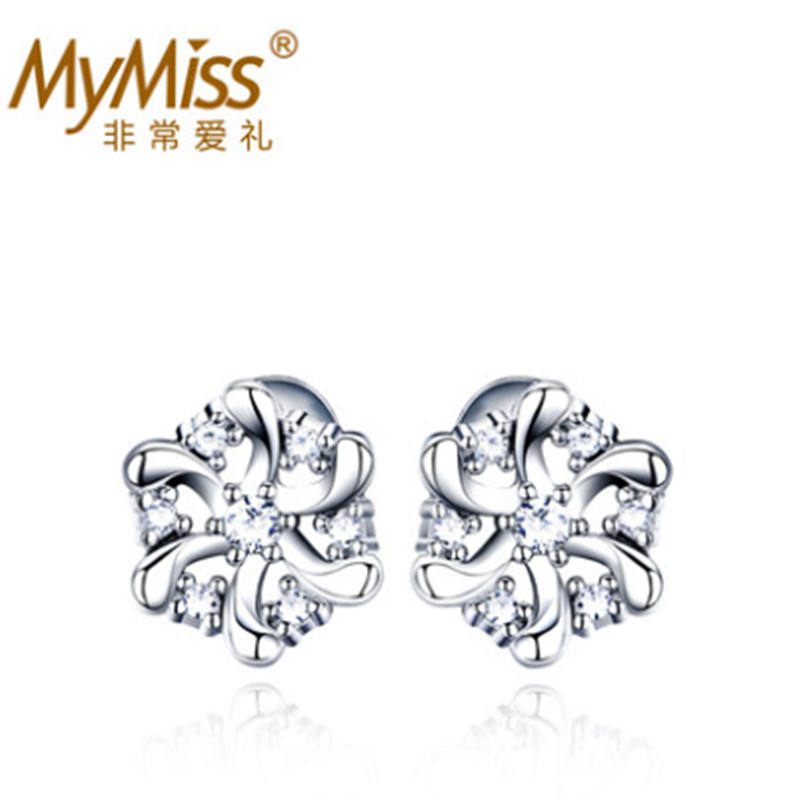 Mymiss925 silver  earring female sweet elegant drop earring accessories valentine day gift