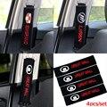 4 PCS carro-styling Frete grátis bordado algodão padrão caso para skoda/Fiat/lexus/hyundai/suzuki/mazda car styling