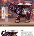 Ofício da resina elefante decoração home fezes mudar um banquinho sapato