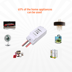 Image 5 - Itead sonoff interruptor inteligente dual 2ch 15a 3500w, temporizador iluminado e remoto sem fio, funciona com amazon alexa google home