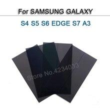 10pcs LCD Polarizer Polarized Light Film For Samsung Galaxy S4 S5 S6 Edge S7 A3 A5 A7 Note4/5 j330 j3 2017 light