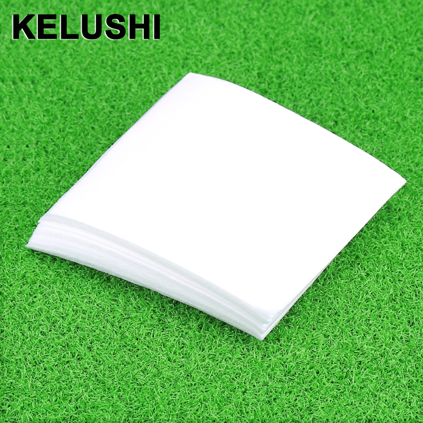 US $0 22 |KELUSHI Anti static lint free wipes dust free paper dust free  paper 50pcs fiber optic tools 10*10cm-in Fiber Optic Equipments from
