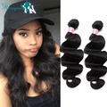 Body Wave Brazilian Virgin Hair 7A Brazilian Human Hair Weave Bundles 3Pcs/Lot Hair Bundles Rosa Queen Hair Products