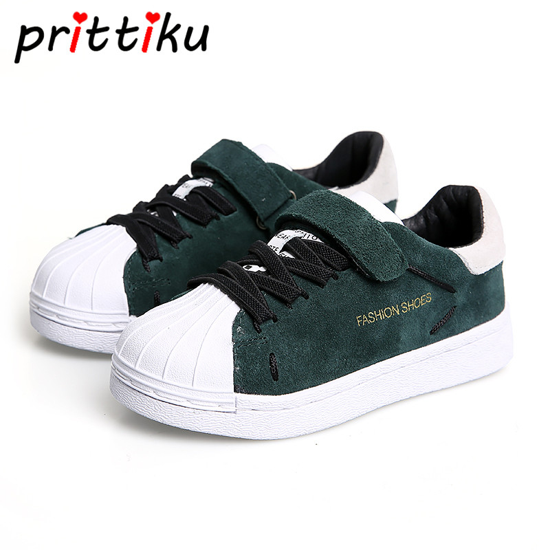 Toddler Boys Casual School Sport Sneakers Little Girls Green Pink Fashion Trainer Big Kids Skates Children Spring Autumn Shoes