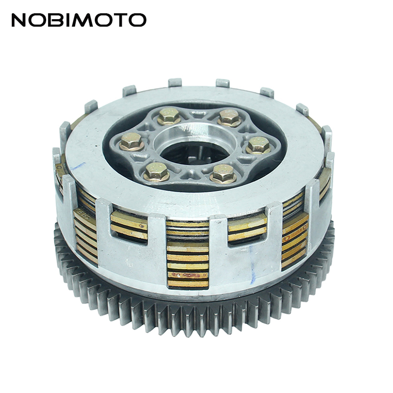 New ATV 70 Teeth Motorcycle Clutch High Performance Motorcycle <font><b>Engine</b></font> Clutch Fit For ZongShen Loncin <font><b>Lifan</b></font> <font><b>250cc</b></font> <font><b>Engines</b></font> LH-144 image