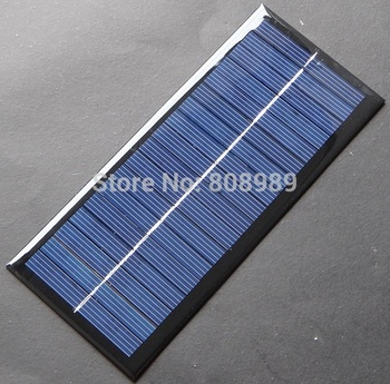BUHESHUI Wholesale! 2.5W 9V Polycrystalline Solar Cell Solar Panel For Battery Charger/DIY Solar Charger 20pcs Free shipping