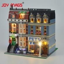 цена на Light up kit Led Building Blocks Kit for Creator Pet Shop Compatible with Lego10218 Lepin 15009