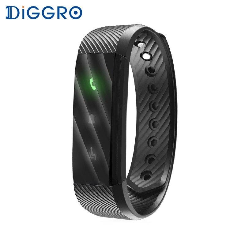 imágenes para Diggro ID115 Lite Inteligente Pulsera Banda Gimnasio Rastreador Paso Contador Actividad Monitor de Sueño Recordatorio Bluetooth Podómetro Pulsera