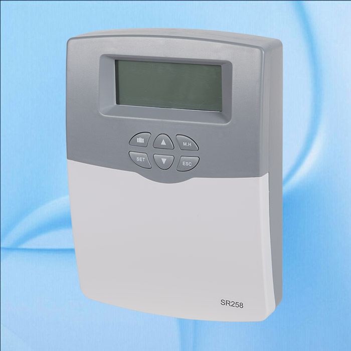 Solar Water Heater Controller Collector and Solar System controller SR258