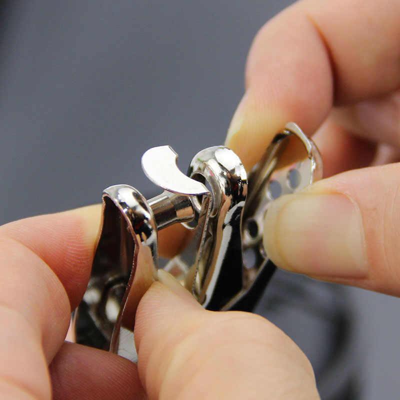 1PC unique trou perforateurs école fournitures de bureau main papier poinçon une boîte poinçon 8 Pages matériaux métalliques facile à utiliser