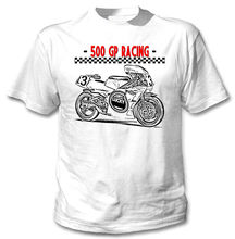 2018 New Summer Cool T-shirt JAPANESE MOTORCYCLE 500 RACINGS - NEW AMAZING GRAPHIC TSHIRT- S-M-L-XL-XXL