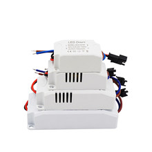 AC85-265V 1-36*1W LED Constant Driver 3W 6W 9W 12W 18W 24W 36W DC3-90V Power Supply Light Transformers for LED Downlight 300mA(China)