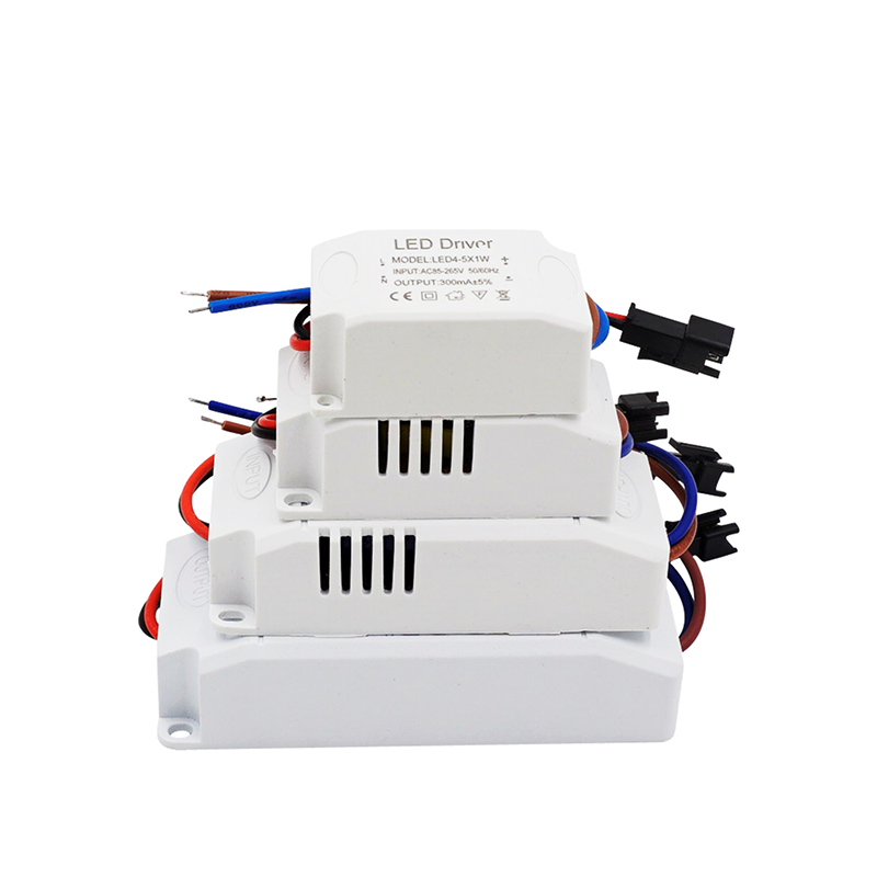 AC85-265V 1-36*1W LED Constant Driver 3W 6W 9W 12W 18W 24W 36W DC3-90V Power Supply Light Transformers for LED Downlight 300mA