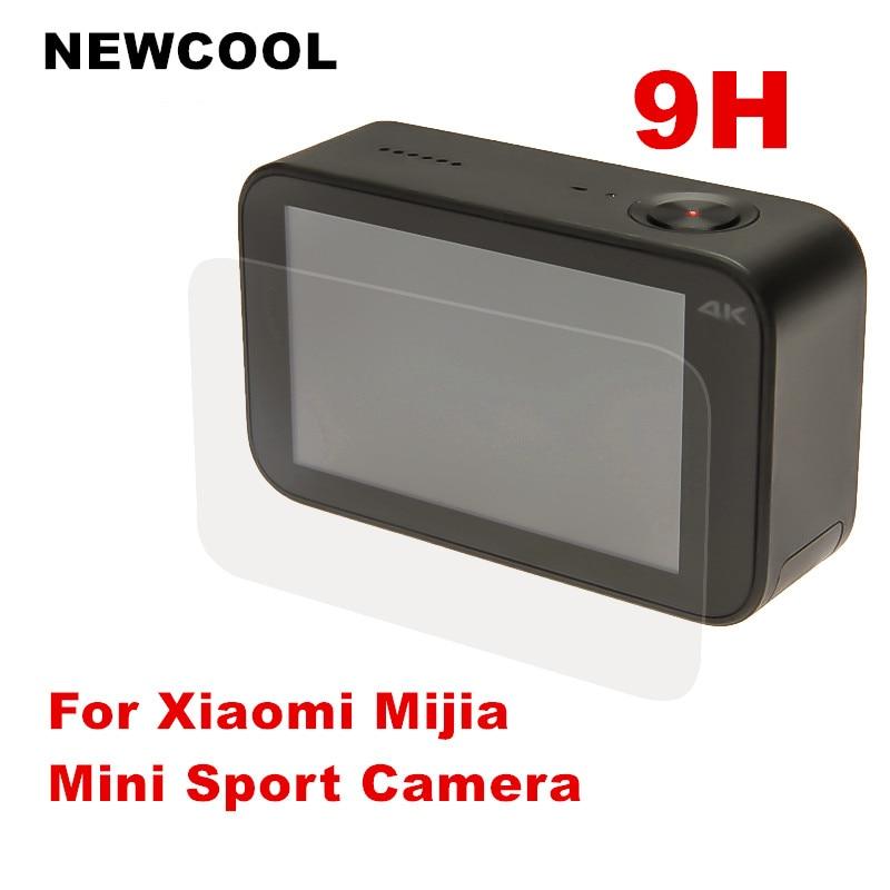 5PCS/LOT 9H Tempered Glass Screen Protector for Xiaomi Mijia Mini Sport Action Camera 4K Protective Film Screen Guard