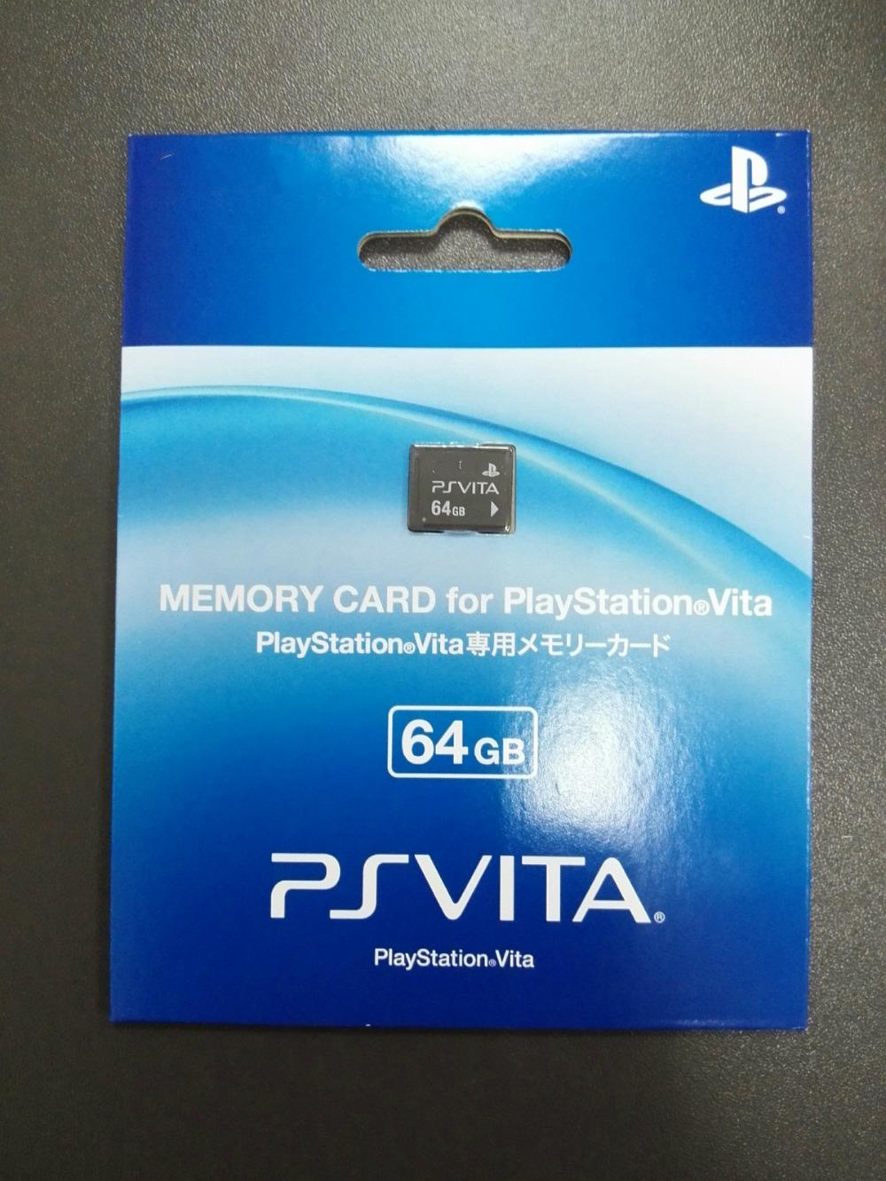 Prix pour Meilleure Offre!! 100% NEW Original 64 GB Carte Mémoire Pour PS Vita/PSVITA avec paquet