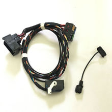 9W2 9W7 Bluetooth Подключи и Играй Жгут проводов Для VW Golf MK6 Jetta MK5 MK6 Passat B6 Tiguan RCD510 + микрофон