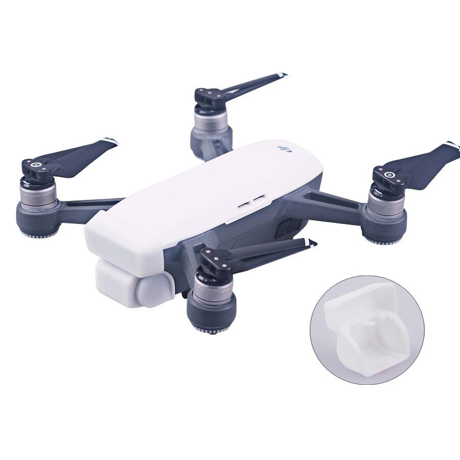 Интегрированный Защитная крышка Камера спереди 3D Сенсор Системы Экран кожа случае В виде ракушки для DJI Spark accessorics